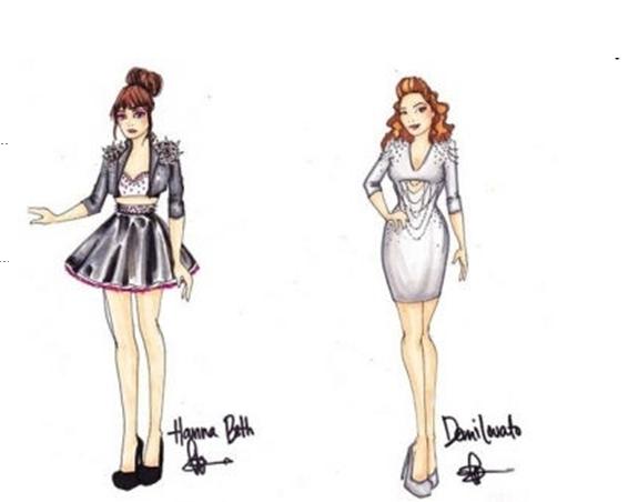 Vestidos de fiesta cortos para dibujar