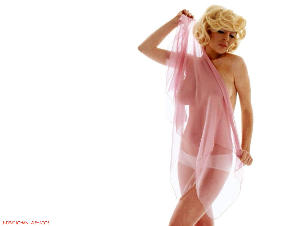 Bikini Girls: Lindsay Lohan desnuda a lo Marilyn Monroe