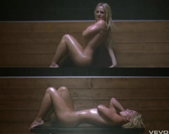 Un video de britany spears desnuda