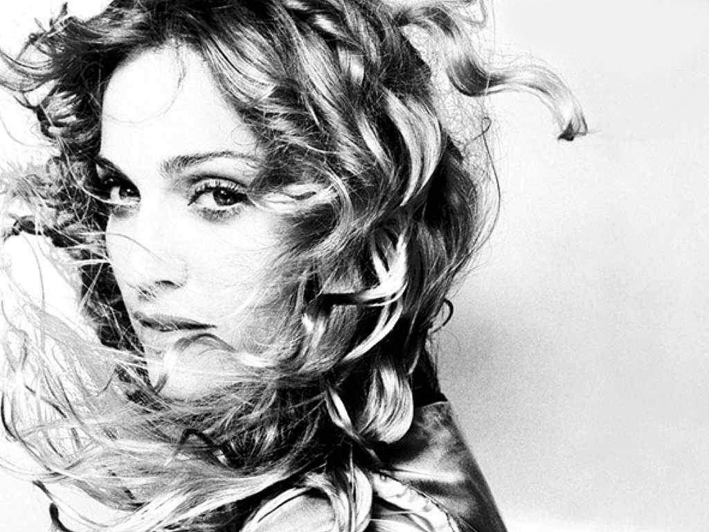 Madonna Black and White